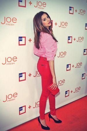 Noureen DeWulf atttends Joe Fresh at jcp Launch Event