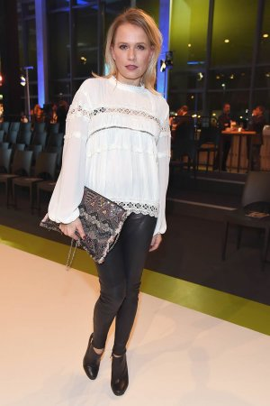 Nova Meierhenrich attends the Tchibo 'Ready for the Green Carpet' Fashion Show