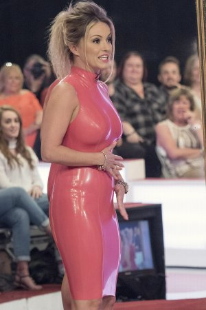 Ola Jordan at Loose Women TV Show
