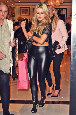 Ola Jordan attends Boux Avenue Oxford Street Store Launch