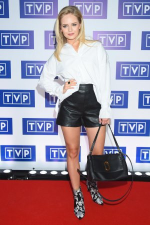 Olga Kalicka attends TVP Autumn schedule presentation
