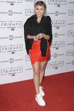 Olivia Buckland attends FriendsFest Closing Party