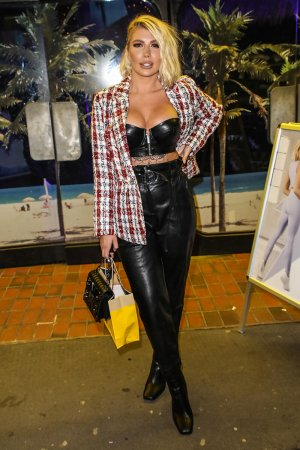 Olivia Buckland attends the launch party for Gabby Allen's new collaboration