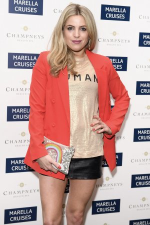 Olivia Cox attends Rosewood London celebrating Marella Cruises' first spa