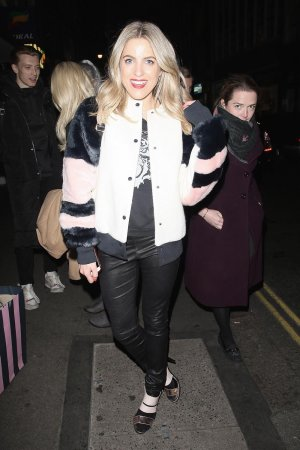 Olivia Cox attends the Shortlist Stylist x New Look Christmas Launch Party