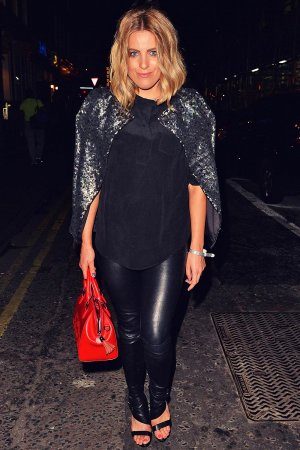 Olivia Cox out in London's West End