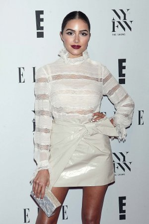 Olivia Culpo attends E! New York Fashion Week Kick Off