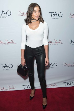 Olivia Culpo attends the Stanton Social 10+1 anniversary party