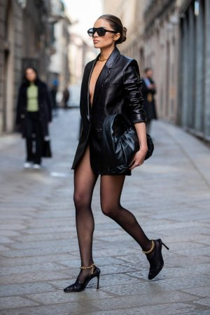 Olivia Culpo out in Milan