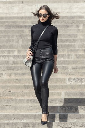 Olivia Culpo seen at Trocadero Plaza