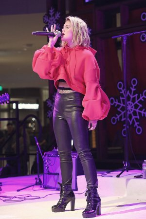 Olivia Holt Live at the Atrium Holiday Concert Series