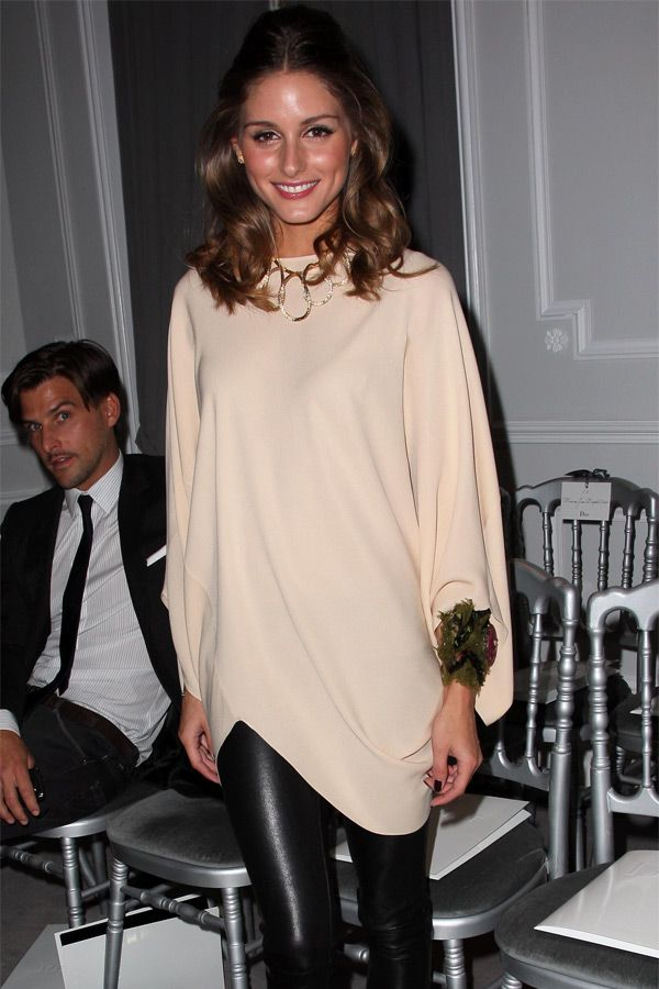 Olivia Palermo at Dior Haute-Couture 2012 Show during Paris Fashion Week