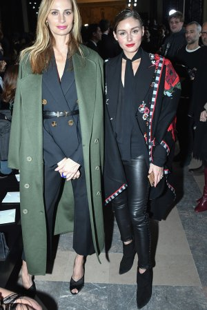 Olivia Palermo attends Elie Saab Haute Couture Spring Summer 2019 show