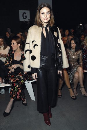 Olivia Palermo attends Naeem Khan show