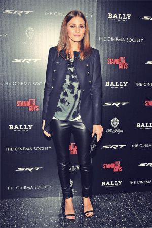 Olivia Palermo attends premiere of Stand Up Guys