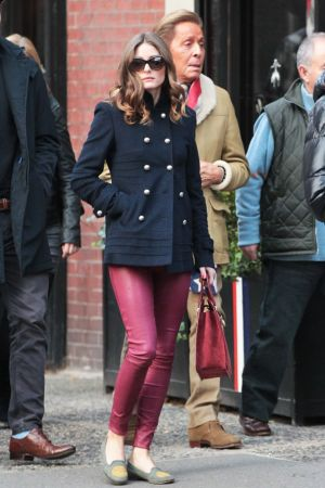 Olivia Palermo in NYC
