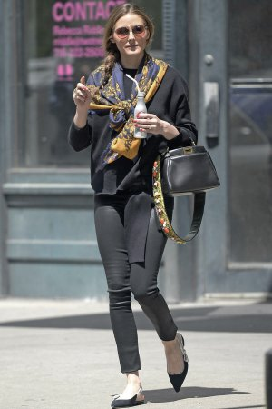 Olivia Palermo out & about in Brooklyn
