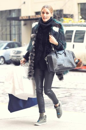 Olivia Palermo out in Brooklyn New York