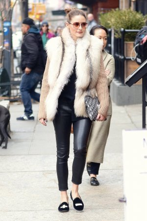 Olivia Palermo out in Tribeca
