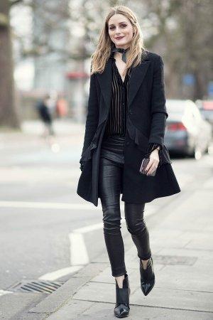 Olivia Palmero attends Christopher Kane show