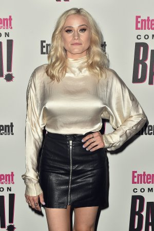 Olivia Taylor Dudley attends Entertainment Weekly Annual Comic-Con