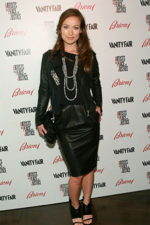 """Olivia Wilde Vanity Fair And Brioni host """"Artists For Peace And Justice"""""""
