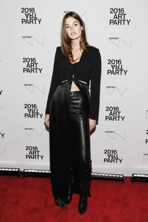 Ophelie Guillermand attends the 2016 Whitney Art Party