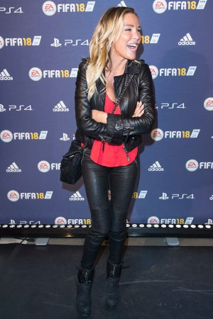 Ophelie Winter attends FIFA 2018 game launch party