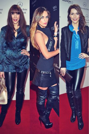 Other celebs attend Mercedes-Benz Fashion Week