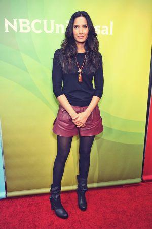 Padma Lakshmi attends NBCUniversal's 2013 Winter TCA Tour
