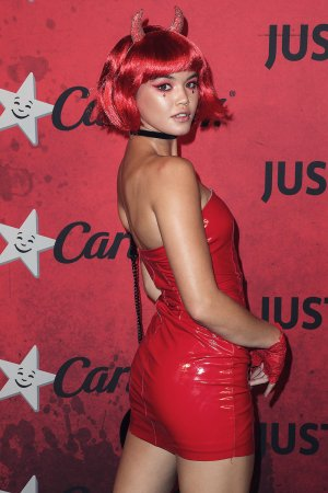 Paris Berelc attends Just Jared's 7th Annual Halloween Party