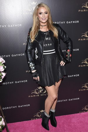 Paris Hilton at her Footwear by Dorothy Gaynor Launch