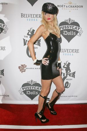 Paris Hilton at Opening Night Of The Pussycat Dolls Lounge