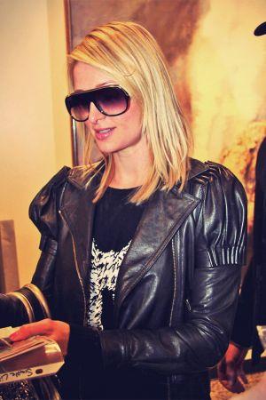 Paris Hilton at Salt Lake City, for Sundance Film Festival