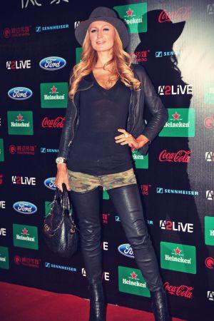 Paris Hilton at Storm Electronic Music Festival