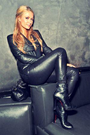 Paris Hilton attends Jay-Z concert & after party