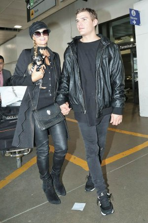 Paris Hilton seen at LAX Airport