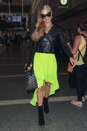 Paris Hilton seen at LAX