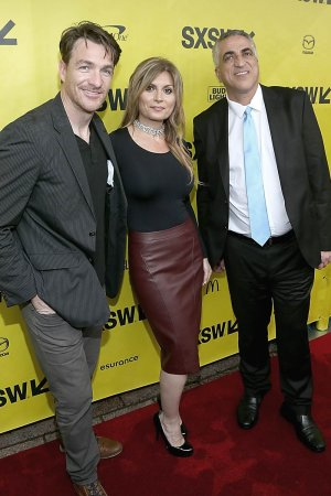Parisa Caviani attends the Film premiere of 'Small Town Crime'