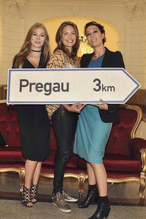 Patricia Aulitzky attends Pregau Kein Weg Zurueck Vienna presentation