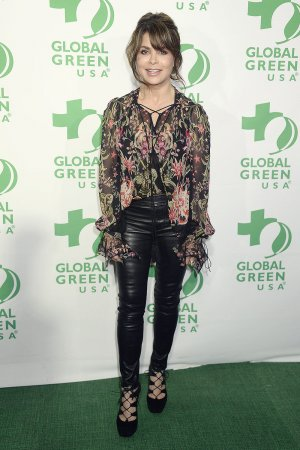 Paula Abdul attends 14th Annual Global Green Pre-Oscar Party