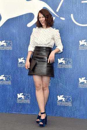 Paula Beer attends the 73rd Venice Film Festival