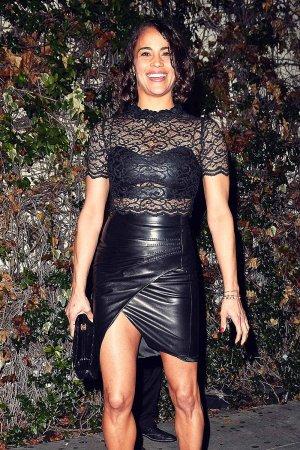 Paula Patton at the W Magazine Golden Globe Party