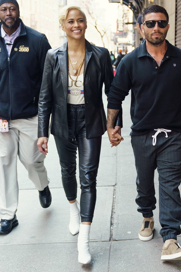 Paula Patton out and about in New York