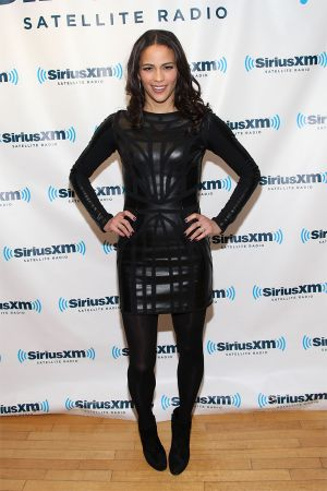 Paula Patton - SiriusXM Studio appearance in NYC