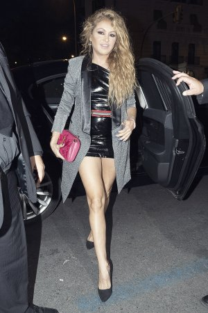 Paulina Rubio attends Nominees party of LOS 40 Music Awards