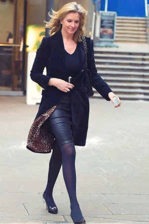 Penny Lancaster out in London