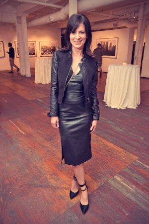 Perrey Reeves attends We. Alone. a photography exhibit