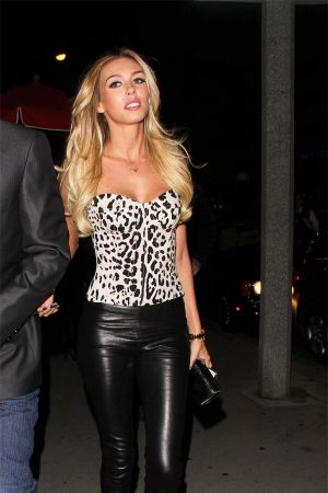 Petra Ecclestone at Boa Steakhouse in West Hollywood