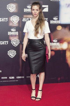 Pheline Roggan attends Aus dem Nichts Kino Film Premiere